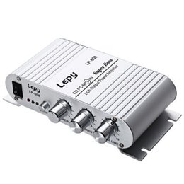 Wholesale Motorcycle Hifi - 12V 3.5mm Wired Portable Mini HiFi Audio Stereo Amplifier for motorcycle, Mp3, Mp4, computer speaker