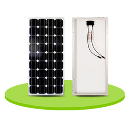 Wholesale Board Assembly - 100 watt monocrystalline silicon solar panels can charge sheet can assembly 12 volt battery charge board