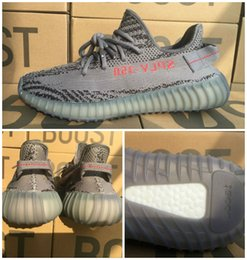 Wholesale Limited Run - Ah2203 Limited 2017 V2 beluga 2.0 White Core Black Red Mix 10 Colors V2 Shoes 36-48 350 V2 Boost Kanye West Running Shoes
