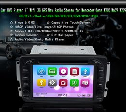 "Wholesale Dvd Car Mercedes - KGL-7507M Android 4.4 Car DVD Player 7"" Wifi 3G GPS Nav Radio Stereo For Mercedes-Benz W203 W209 W639 Free 8GB CARD SCYF0695"