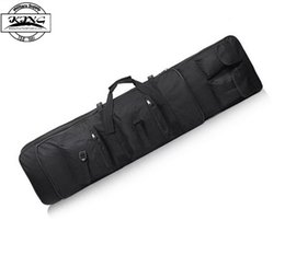 Wholesale High Density Bags - Wholesale-85cm   100cm   120cm High Density Nylon Rifle Case Gun Bag Tactical Gun bags for Outdoor War Game Activities Rifle bag