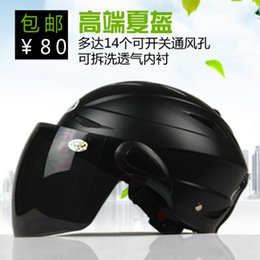 Wholesale Gsb Helmets Motorcycle - Wholesale-Wholesale Motorcycle helmet anti-uv gsb-6 electric bicycle helmet Free Shipping