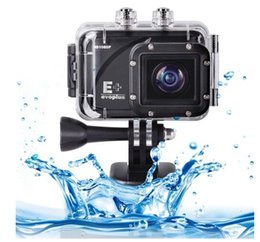 Wholesale E Bicycles - 2015 Top Quality Car DVR EVOPLUS E+ Full HD 1080P 12MP Diving Bicycle Action Camera 60m Waterproof Car DVR Sports DV free shipping