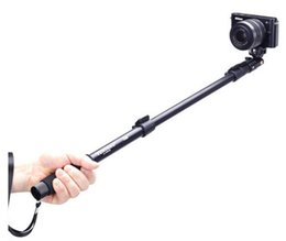 Wholesale Tripods Slr Cameras - Yunteng 188 tripod monopod for camera and phone monopd for SLR Digital Camera i Phone 5 5s 6 plus Sport Camera 20pcs