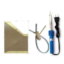 Wholesale Stripping Tool For Cable - Carkitscenter instrument fading LCD pixels repair tool for opel astra display ribbon cable t-tip soldering iron rubber strip