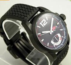 Wholesale Men Automatical Watch - Luxury Swiss Brand New Men Automatical Watches Black Rubber Grans Turismos GTS XLS Faces Date Casual Mens Mechanical Wristwatch Man Dropship