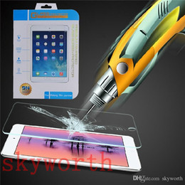 Wholesale Air Packaging - Explosion-proof Tempered Glass Screen Protector for iPad Pro 9.7 10.5 2017 ipad air mini 2 3 4 5 6 Retail Package
