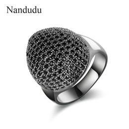 Wholesale Rings Marcasite - wholesale High Quality Marcasite Crystal Rings for Christmas New Year Fashion Jewelry Gift Accessories Heart Style Ring R1893