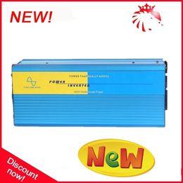 Wholesale Sine Wave Free Shipping - 4000W 4KW 48V dc to 220V 240V ac Pure Sine Wave Power Inverter (8kw 8000w peak power) Free shipping