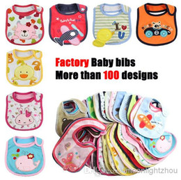 Wholesale Cheap Baby Girl Waterproofs - Baberos for Bebes Giyim Babador New Bibs & Burp Cloths Feeding Baby Clothes Towels Cottonbaby Accessories Boys Girls Waterproof Bib Cheap
