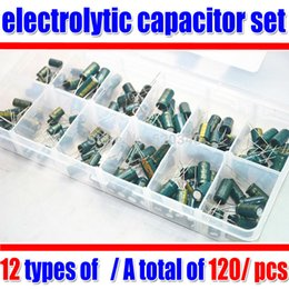 Wholesale Electrolytic Capacitor Motherboard - 120pcs  set electrolytic capacitor set motherboard  Applicable LCD graphics motherboard repair  Gift: components box order<$18no track