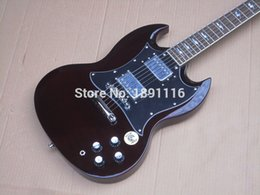 Wholesale Electric Guitars Young - Wholesale-Wholesale electric guitar guitar, angus young,dark red, high quality guitar