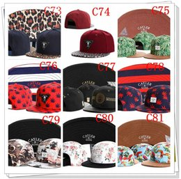 Wholesale Wholesale Snap Back Cap Hiphop - Brand New Adjustable Cayler son snapback hats Bone Hiphop Snap back Snapback Baseball Sport hats For Men and Woman free shipping by DHL