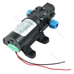 Wholesale 12v high pressure water pump - 12V Brake pump car Water Pump DC 5L min 60W Micro Car Diaphragm High Automatic Pressure Switch