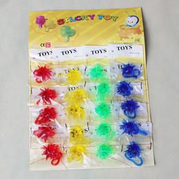 Шипы для синих мешков онлайн-Липкие игрушки новинка пункт для радости шип шары партия выступает подарочные пакеты красный синий желтый зеленый забавные детские игрушки