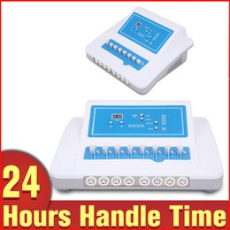 Wholesale Electronic Stimulator - Salon Pro Microcurrent Bio Weight Loss Lymph Drainage EMS Fat Reduce Slimming Body Shape Electronic Muscle Stimulator Machine
