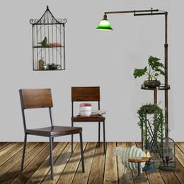 Meubles rétro Pays d'Amérique à faire les vieilles chaises en fer forgé tables de restauration rapide et chaises chaise en bois extérieure Restaurant cha ? partir de fabricateur