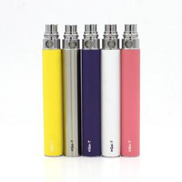 Wholesale Cheap Ego Cig Kit - Cheap Ego t Battery 650mah 900mah 1100mah 1300mah for Electronic Cigarettes E Cigarettes E-cig Kit Various Colors