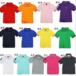 Wholesale Children S Summer Shorts - Drop shipping.12 color optional ! 8--15 years old children's short sleeve!Cotton T-shirt! Coat!children clothes clothing.5pcs lot.TM.