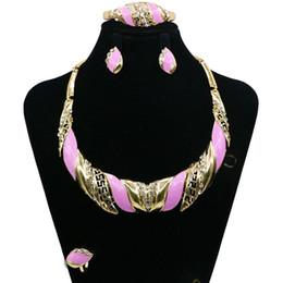 Wholesale Tiaras Coral - Zeal Bride Diaries Costume jewelery sets New Design Pearl Bride 3pcs Set Necklace Earrings Tiara Bridal Women Wedding Jewelry Set