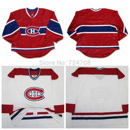 Wholesale Nhl Jersey Cheap - 30-Teams all Customized Montreal Canadiens jerseys goalie cut Jerseys Home red Away white jerseys Any Name & NO. own design cheap nhl hockey