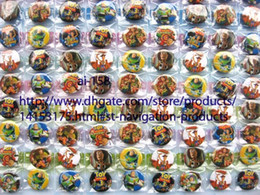 Wholesale Toy Story Wholesale Clothing - Free Shipping 20 sheets 2160 pcs 2.5 cm Toy Story 3 badges Novelty Cartoon Backpack Decorations Clothing Accessories Kid Gift Pin Badge