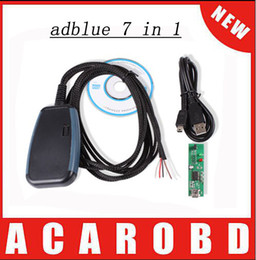 Wholesale Mercedes Module - Whosale Adblue 7in 1 adblue emulator MODULE Truck Adblue Remove Tool for Mercedes, MAN, Scania, iveco,DAF,Volvo and Renault