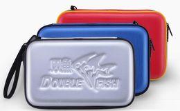 Doppelte g taschen online-Tischtennisschlägerverkleidung Double Fish G-Form Tischtennisbeutel Einzelsatz