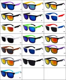 Wholesale Dhl Sunglasses - Brand Designer Spied Ken Block Helm Sunglasses Men Women Unisex Outdoor Sports Sunglass Full Frame Eyewear 21 Colors S, P, Y free DHL