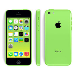 Wholesale Cheap Dual Core Phones - Cheap Original Refurbished Unlocked Apple iPhone 5C Cell phones 16GB 32GB dual core WCDMA+WiFi+GPS 8MP Camera Smartphone US Version 002849