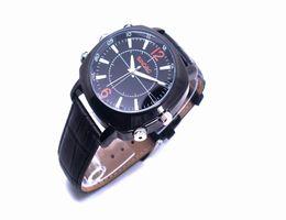 Wholesale Hd Spy Cam Clock - Digital Clock watch camera Leather Wrist Waterproof HD 1080P Spy Hidden camera 16GB Mini Video Camcorder DVR PC Cam USB High Quality