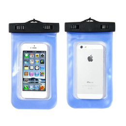 Wholesale S2 Pouch Case - Wholesale-2015 New Hot Sales Waterproof Bag Underwater Pouch Dry Case Cover For Iphone 4 5S Samsung S2 S3