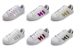 Wholesale Female Toe - Fast shipping 2017 Summer Fashion mens Casual shoes Superstar Female Flat Shoes Women Zapatillas Deportivas Mujer Lovers Sapatos Femininos