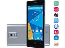 Wholesale Air Gesture Quad Core - DG450 Smartphone IPS Android 4.2 MTK6582 3G 4.5inch IPS Screen International DOOGEE Quad core 1GB RAM 4GB ROM 8.0MP GPS Miracast Free Ship
