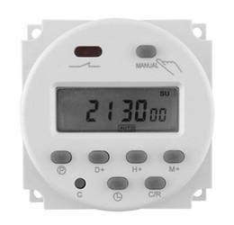 2019 temporizador 16a Envío gratis Digital LCD potencia programable temporizador relé del interruptor AC 12V / AC220V / AV110 / AC24V 16A temporizador 16a baratos