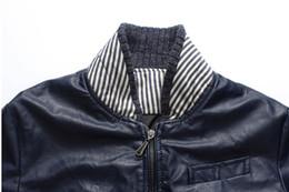 Wholesale Jaqueta Couro Masculino - Fall-New 2015 fashion autumn classic style micro elastic casual motorcycle leather jacket men plus size jaqueta de couro masculino