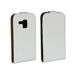 Wholesale S7562 Leather Case - For Samsung Galaxy Trend Duos S7562 Elegant Genuine Flip Leather Case Cover