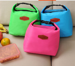 Wholesale Ice Bag Insulation - Wholesale thicker insulation package lunch bag lunch bags creative ice pack a picnic lunch portable package 10pcs