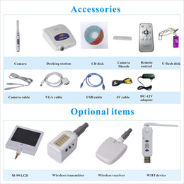 Wholesale Teeth Whitening Kits Led Light - high quality USB Video VGA output dental home teeth whitening kits with led light intraoral best cam dental wired camera unit