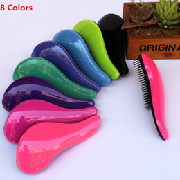 Wholesale Hair Comb Wholesale Supplies - Brand Tangle Teeze Magic professional Hair Combs Fashion Detangling TT Salon Handle Hair Brushes styling tools Supplies Product Wholesale