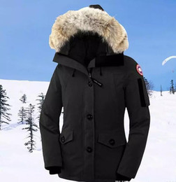Wholesale Women Down Coats Canada - 2017woMen's canada Down & Parkas women DOWN winter down jacket Polartec Jacket Male Sports Windproof Waterproof Breathable Outdoor Coat c-27