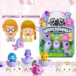 Wholesale Mini Toys Girls - 3 sets Hatchimals Colleggtibles Season 1 Nest 4-Pack + Bonus Bundle Baby Mini Egg Carton Collection Toys for Kids Novelty Toy toy015