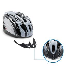 Wholesale Safety Cap Helmet - Wholesale-2015 NEW Road Bike Riding Cycling Bicycle Adult Men Bike Helmet With Visor Motorcycle safety helmet CY100