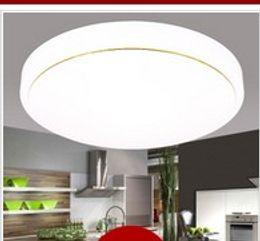 Luz de cúpula LED rodada droplight de sala de estar corredor varanda lâmpada estudo quarto lâmpada lâmpadas de iluminação e lanternas AC110V-250V de