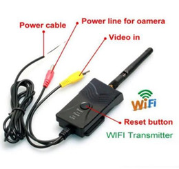 Wholesale AV video Wifi Transmitter W Waterproof wireless P2P fps SmartPhone realtime