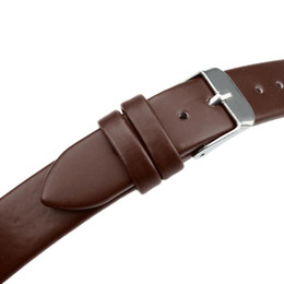 Wholesale Women Watch Leather Band - Wholesale-2015 New 20mm Women Fashion Leather Watch Strap Watch Band For Wristwatches
