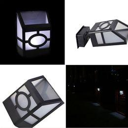 Wholesale Cheap Solar Garden Light - 2 LED Solar Powered Outdoor Lights Led Sensor Garden Stair Wall Light Lamp Waterproof Lighting Cheap price