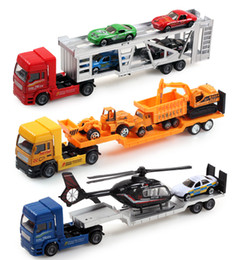 Wholesale Classic Car Years - wholesale boy toys model car truck machineshop car 2 sets excellent christmas festival gift alloy meral environmental protection material