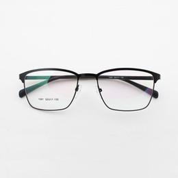 Wholesale Reading Glasses Round - 2017 New Fashion Men&women Round glasses Retro Metal Frame Eyeglasses Optical brand designer clear Plain Mirror Reading&outdoors Glasses leg