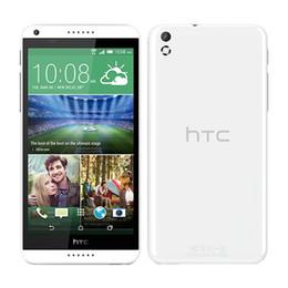 Wholesale Gp Brands - Refurbished Original HTC 816 Brand Phone 5.5inch Quad Core ROM 8GB RAM 1.5GB 13.0MP Dual Sim 3G GPS Unlocked